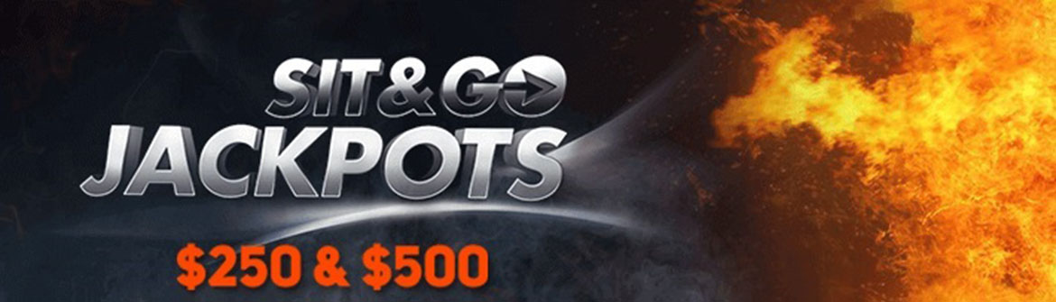 PartyPoker provides with new SnG Jackpot stakes of 0 and 0