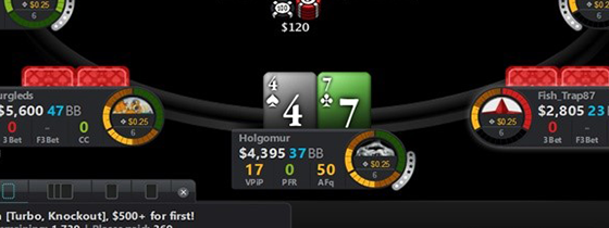 Лучшие покер-румы с игрой без HUD